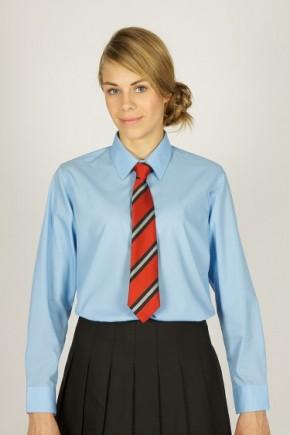 Blue L/S School Blouse - Junior School (7071JTS)