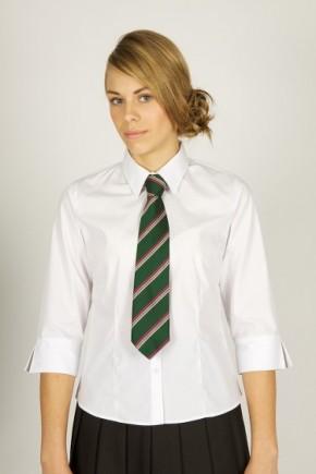 White 3/4 Sleeve School Blouse - Senior School (7072JTS)