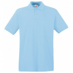 Ickburgh School - Optional Sky Blue Polo Shirt (7095-SKY)