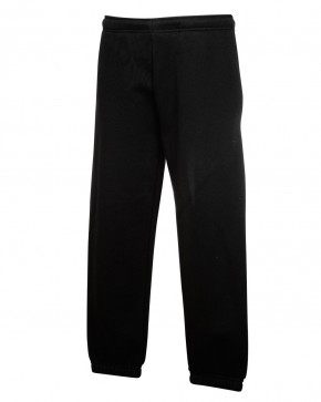 Black School Jogging Pants by Fruit of the Loom (7211BLK)