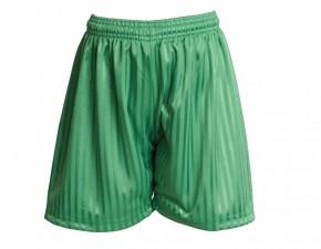 Emerald Green Shadow Stripe Football Shorts (7210-ELD)