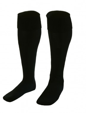 Black School Football Socks (7212B)