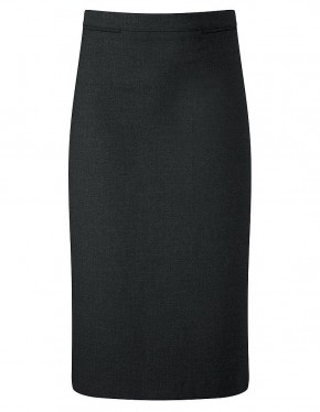 Luton Black Straight School Skirt (7387BLK)