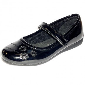 """Bridlington"" Junior Girls School Shoes (7442)"