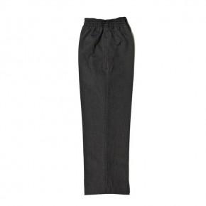Grey Junior Boys Full Elastic Pull-Up Trousers (7457-GREY)