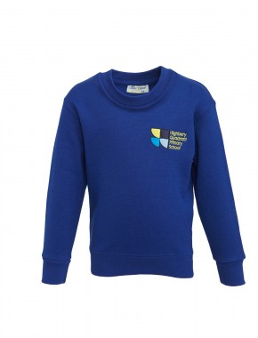 Highbury Quadrant Sweatshirt with School Logo (8750)