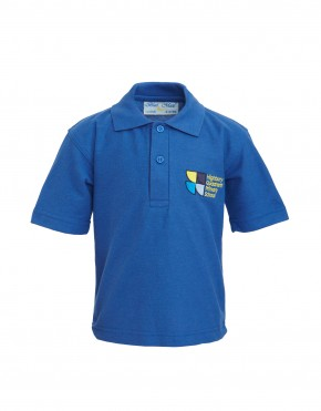 Highbury Quadrant Polo Shirt with School Logo (8752)