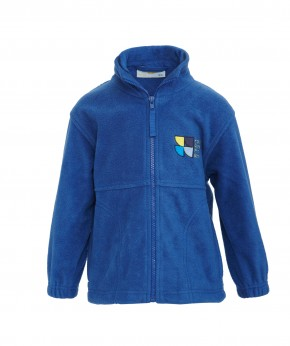 Highbury Quadrant Fleece Jacket with School Logo (8753)