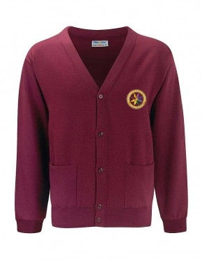 Rotherfield Primary School Sweat Cardigan with School Logo (8871)