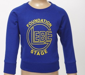 Glebe Foundation Stage Round-Neck Sweatshirt with Logo (8980)