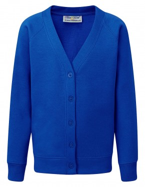Ickburgh School - Compulsory Primary Sweat Cardigan with School Logo (9042)