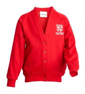 Borden School Cardigan Sweatshirt (BD8401)
