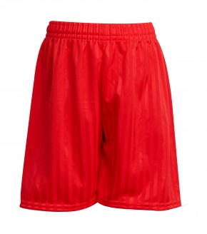 Red Shadow Stripe Shorts (8403)