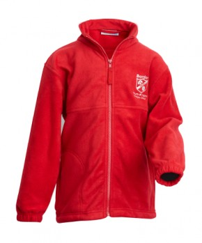 Borden Red  Fleece Jacket (BD8405)