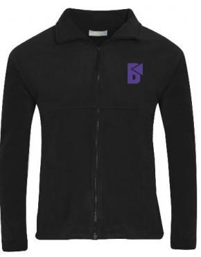 Beacon High P.E. Fleece Jacket with School Logo (8126)