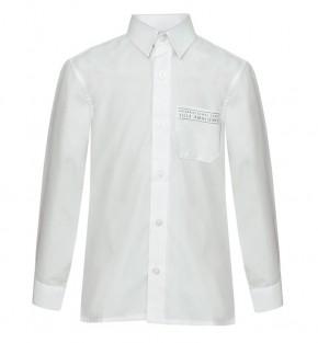 ISVA White L/S School Blouses - Twin Pack (8563)